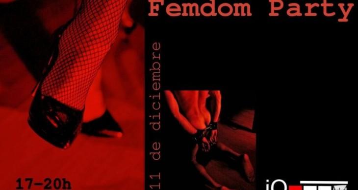 FEMDOM PARTY EN ORBITA IO (BARCELONA) 11 DICIEMBRE