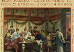 SATURNALIA – NOCHE BDSM EN EDEN PAREJAS (MADRID). 12 DICIEMBRE.