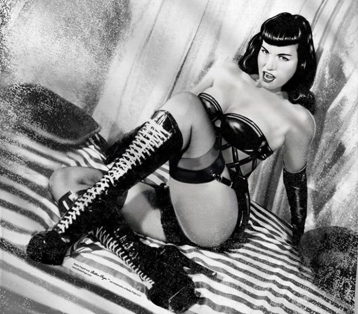 HISTORIA DEL BDSM: BETTY PAGE