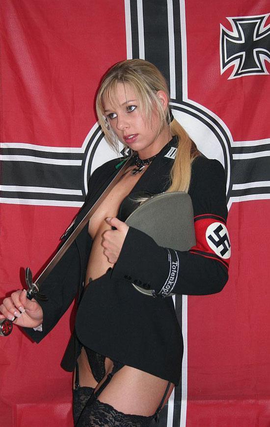 nazi-girl