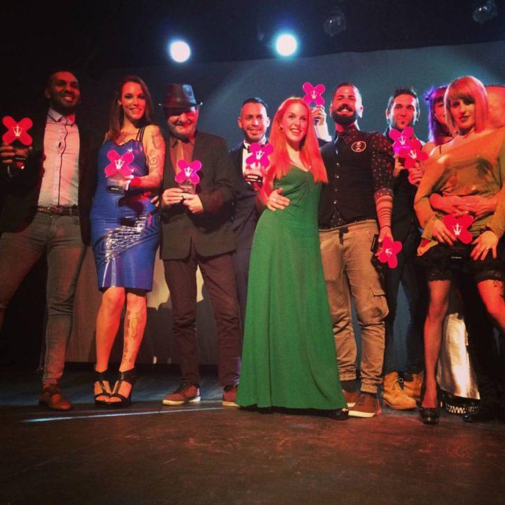José María Ponce y Pere Torrent 'Peret' premios Ninfa de Honor 2016