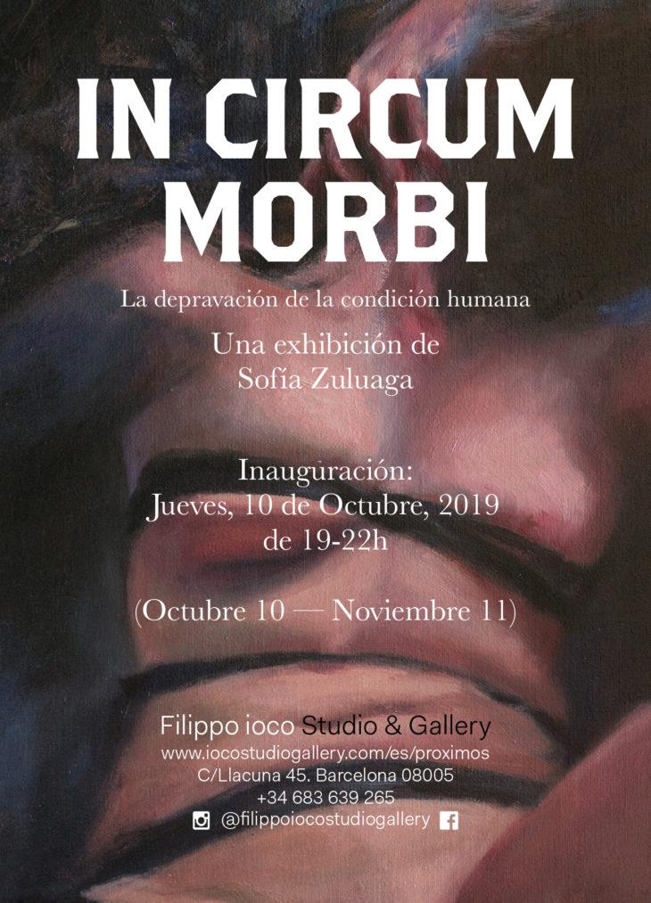 """EXPOSICIÓN """"IN CIRCUM MORBI"""" DE SOFÍA ZULUAGA"""