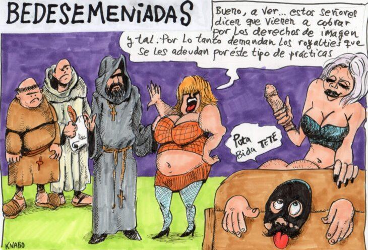 BEDESEMENIADAS – VIÑETA 30